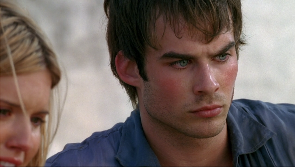 Hey, look, it's Boone! What a dreamboat. That should satisfy the Somerhalderheads for a few episodes.